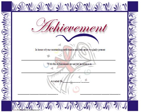 certificates of achievement templates free pin award certificates page backgrounds fonts