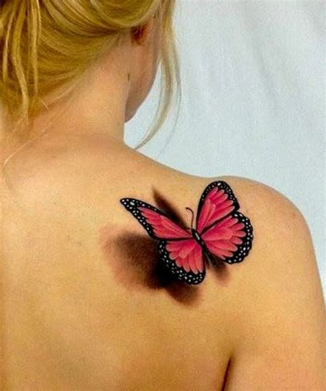 tattoo 3d girl cutest 3d butterfly tattoo design for girls styles time