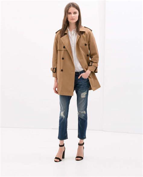 cappotti e look minimal blue is in fashion this year catalogo abbigliamento zara autunno inverno 2014 2015