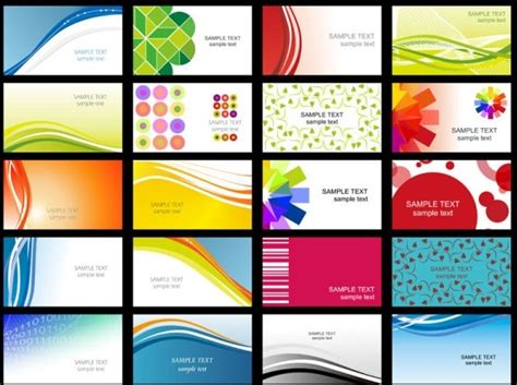 free line card template variety of dynamic flow line of business card templates 02