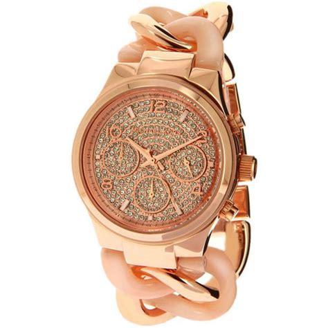 montre michael kors runway mk4283 montre or multifonctions femme sur bijourama montre