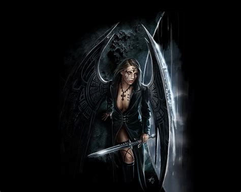 anime genre dark fonds d 233 cran mystiques le genre gothique mystique
