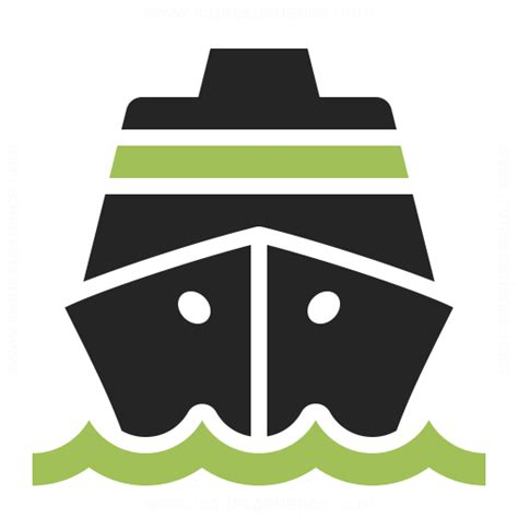 ship icon cruise ship icon iconexperience professional icons 187 o