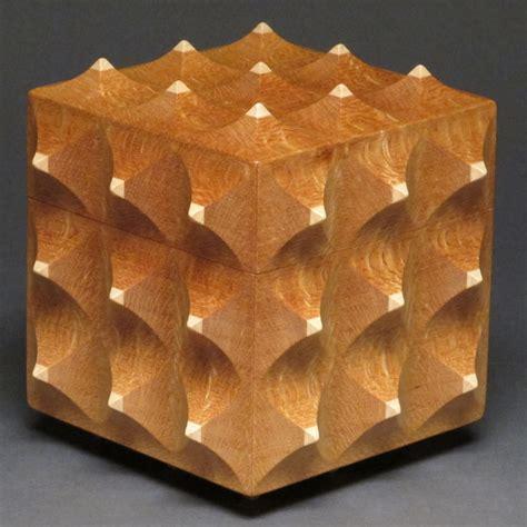 unique boxes unique sculpted wooden box lacewood and maple