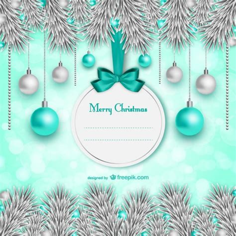 chrismas business card template card template vector free vector