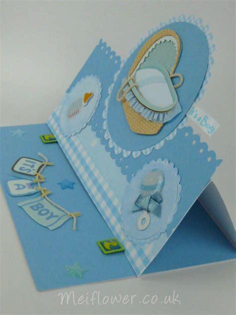 baby boy cards to make baby cards meiflower handmade cardmaking uk