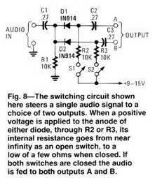 diode switching circuits 4 to 3 wire taillight conversion