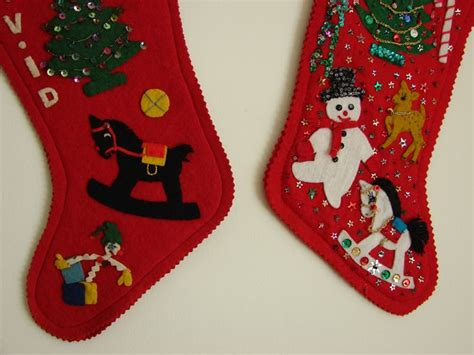 pattern for felt stocking 32 best fieltro images on pinterest christmas ideas