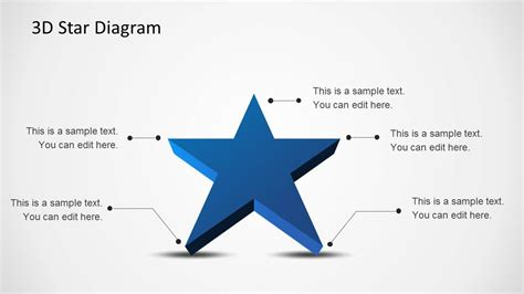 what why who where when diagram 3d diagram template for powerpoint slidemodel