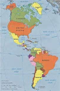 america map countries pan american map