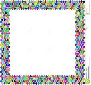 mosaik bordre mosaic borders clipart