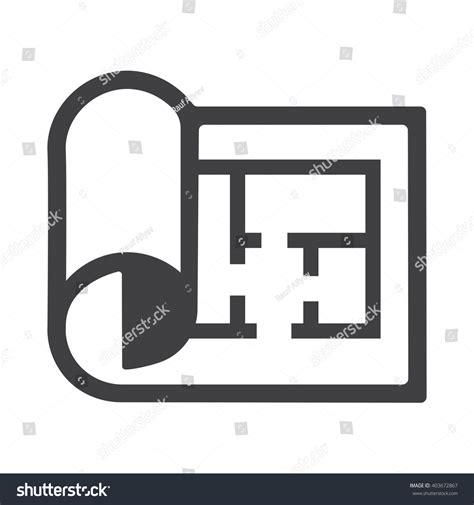 floor plan icon plan icon stock vector 403672867 shutterstock