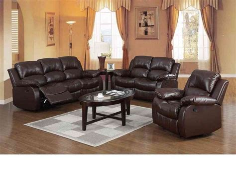 3 Seater Brown Leather Recliner Sofa Recliner Sofa Suite Brown Leather 3 2 Seater Www Energywarden Net