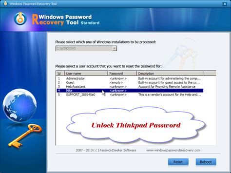 reset password xp recovery console default administrator password xp recovery console