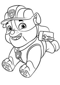 dibujos la patrulla canina colorear paw patrol