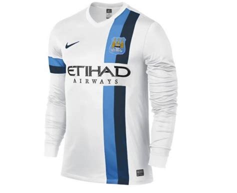 Tshirt Major League Putih Manchester City Third Shirt For 2013 14 Season New Leaked