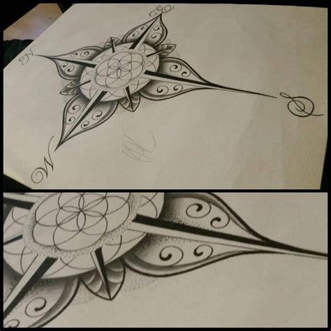 compass tattoo erweitern 1000 ideas about lebensblume tattoo on pinterest tattoo