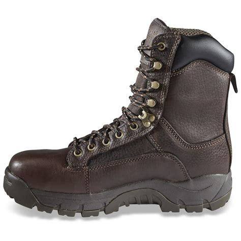Comfortable Shoes For Hammer Toes by Guide Gear S 8 Quot Soft Toe Leather Hammer Boots 292370 Work Boots At Sportsman S Guide
