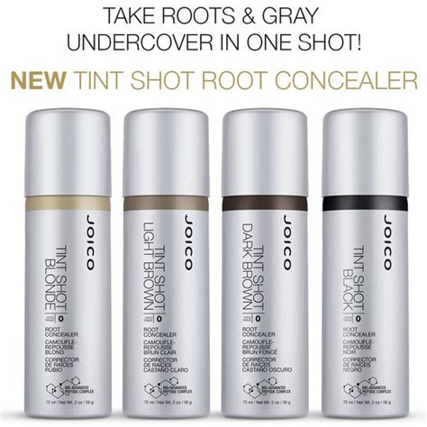 best drugstore hair color for resistant gray joico tint shot root concealer
