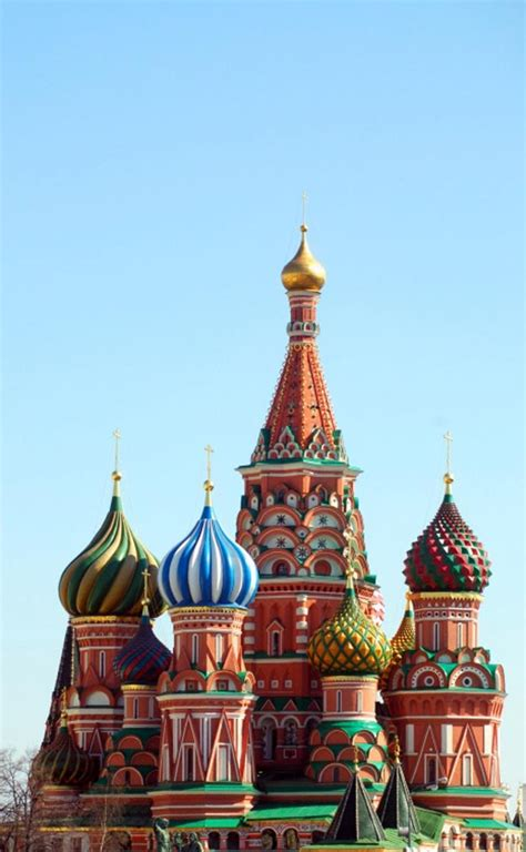 saint basils cathedral moscow russia map facts