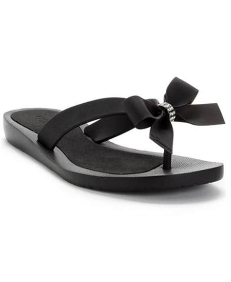 Sandals Flip Flops Guess guess tutu bow flip flops sandals shoes macy s