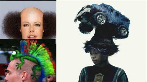 weirdest hairstyles 14 world s weirdest hairstyles