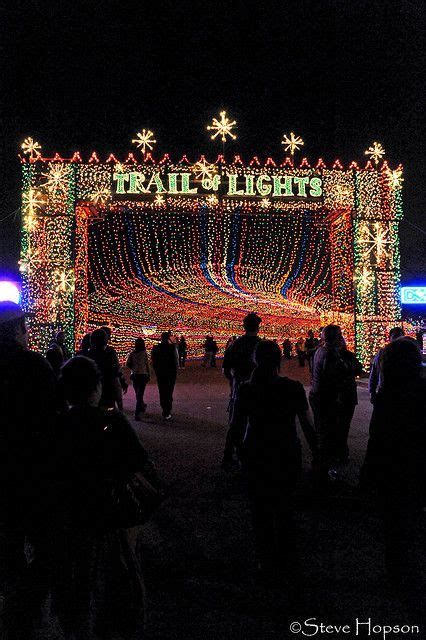 Trail Of Lights Tx by 1000 Ideas About Events In On