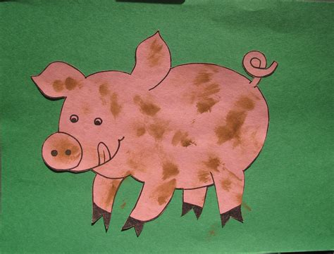 pig template for preschoolers 6 best images of printable pig craft pig template to