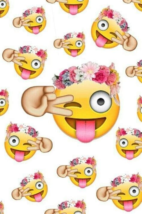 wallpaper emoji whatsapp emoji flowers pink wallpaper whatsapp image 2556311