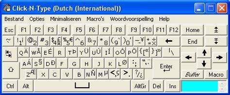 keyboard layout dutch click n type language packs