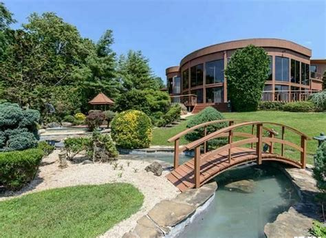 million contemporary waterfront mansion  great