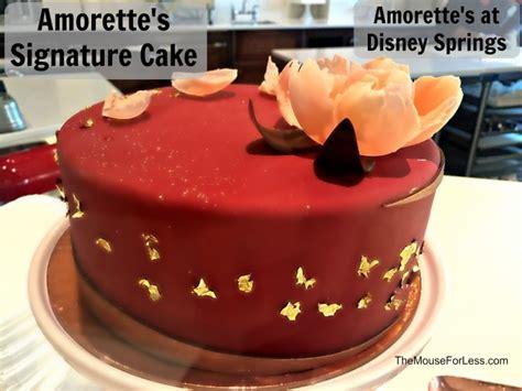 amorettes patisserie menu disney springs  walt disney world