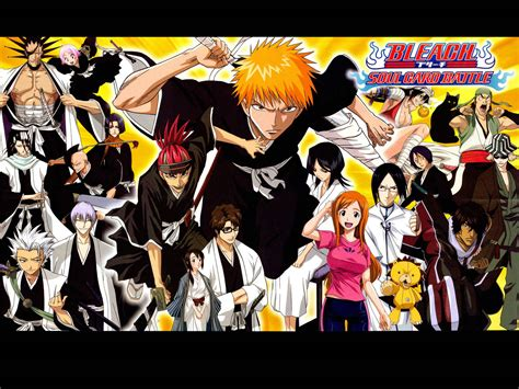 hd wallpapers of anime characters wallpapers bleach wallpapers