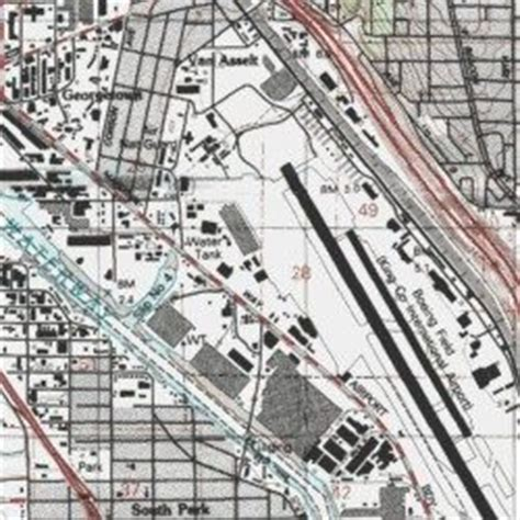 Map Of Boeing Locations Map by Boeing Plant 2 Heliport King County Washington Airport