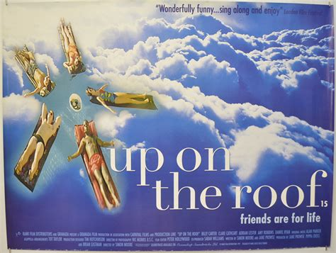 film up on the roof up on the roof original cinema movie poster from