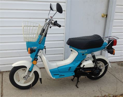 honda express scooter 1981 vintage honda express sr 49cc scooter moped in