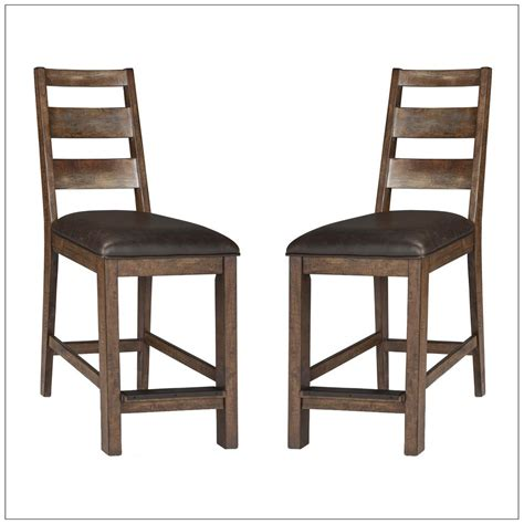 24 Inch Ladder Back Bar Stools by Taos 24 Quot Ladderback Barstool Set Of 2