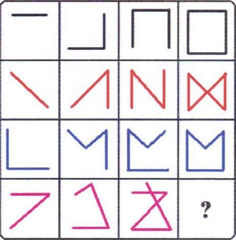 quick pattern test nicologic exercise your brain