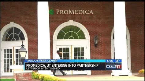 Ut Letter Of Intent Ut And Promedica Sign Letter Of Intent