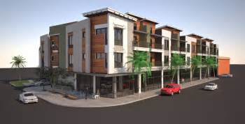 building los angeles mixed use oliver apartments rise in 10 unit apartment building floor plan floor plans for