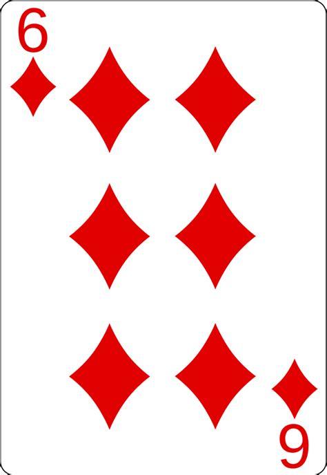 File:6 of diamonds.svg   Wikimedia Commons