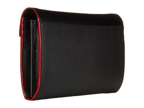Gaby Wallet lodis accessories kate gabi wallet on a string black white