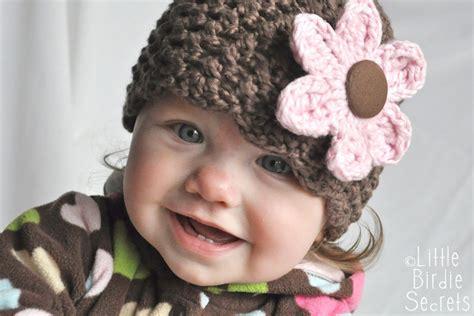 pattern crochet hat with flower my crochet part 356
