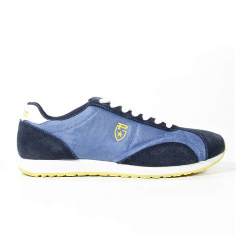 pirelli sneakers pirelli shoes dustin sneaker suede canvas in blue for
