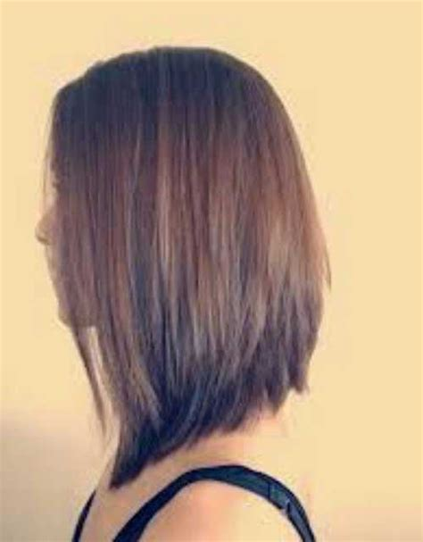 show front back short hair styles lob haircut pictures show front and back