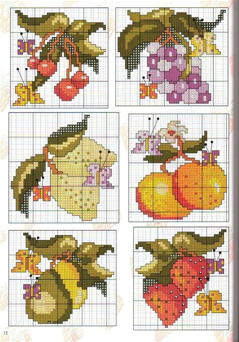 stitches pictures cross stitch images fruit cross stitch cross stitch