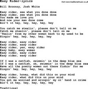 Guitar lesson for easy rider lyrics with chords tabs and lyrics
