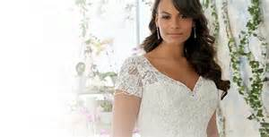Plus size wedding dresses bridal gowns amp accessories for fuller
