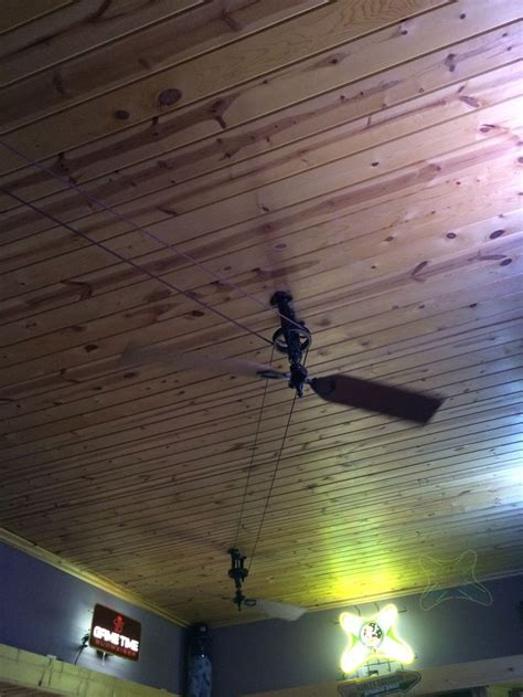 pulley ceiling fan 17 best images about pulley ceiling fans on