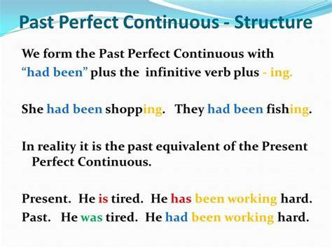 past perfect continuous tense english 0201 1238 besten english tenses bilder auf pinterest englisch